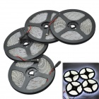 96W 12V 3600lm 7500K 1200-3528 LED Cold White Waterproof Epoxy Decoration Light Strip Kit (4 PCS)