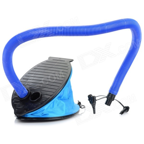 Multi-Function Foot Pump Tool for Inflatable Toy - Blue + Black factory direct inflatable trampoline inflatable jumping slide giant slide inflatable