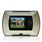 "2,2 ""Bildschirm Wireless Outdoor Camera + Indoor Digital-Projektor-Monitor-Set - schwarz + Champagne"