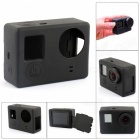 CS-4 Protective Silicone Shell Case for GoPro Hero 4 / 3+ / 3 - Black
