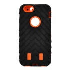 "2-in-1 Protective ABS + Silicone Back Case for IPHONE 6 4.7"" - Black"