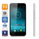 "100+ V6(100CW) 5.5"" FHD 3G Android 4.2.2 Smart Phone w/ 2GB RAM, 32GB ROM, Dual-SIM - White"