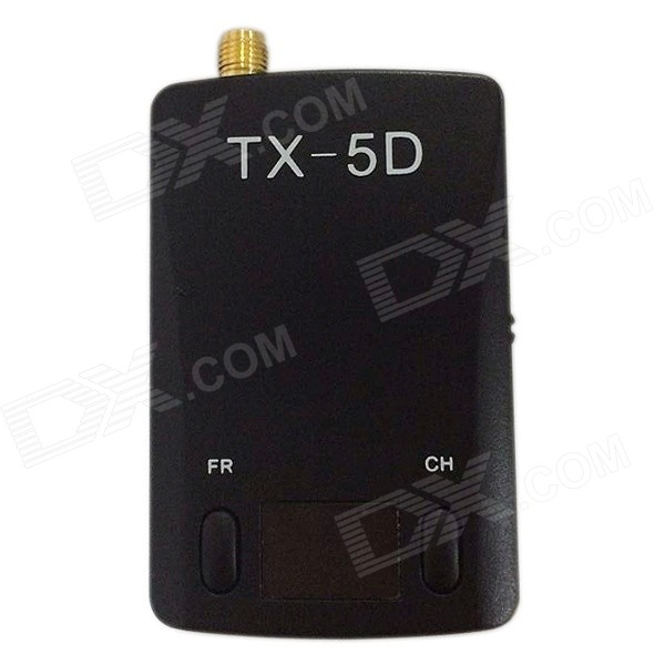 TX-5D 5.8GHz 600mW 32-Channel HDMI & CVBS to AV Transmitter Module - Black