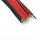 DIY Electronic Connecting Cables - Red + Black (40 PCS / 15cm)