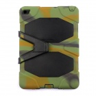 "Silicone Shock-proof Fall-proof Dust-proof Case w/ Stand for IPAD AIR 2 9.7"" - Camouflage + Black"