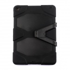 "Silicone Shock-proof Fall-proof Dust-proof Case w/ Stand for IPAD AIR 2 9.7"" - Black"