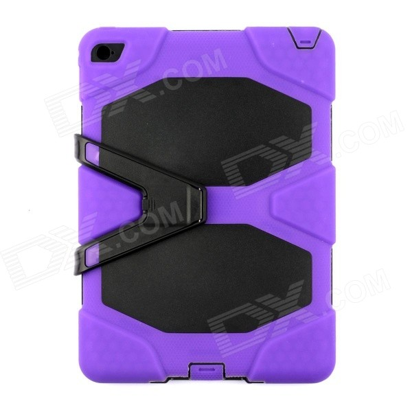 все цены на Silicone Shock-proof Fall-proof Dust-proof Case w/ Stand for IPAD AIR 2 9.7