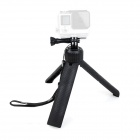 Fat Cat Multi-purpose Mini Handheld Tripod Grip for GoPro Hero 4 / 3 /2 / SJ 4000 / 5000 - Black