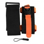 Oumily Sports de plein air Gym brassard pour téléphone portable - noir + Orange