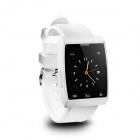 "Gumbo GB-X5 1.4"" Smart Bluetooth Watch w/ Shutter Remote for Android / IOS Smartphones - White"