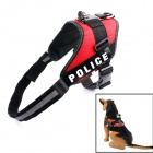 PANNOVO Adjustable Dog Pet Chest Shoulder Strap Mount for Gopro Hero 4 / 2 / 3 / 3+ / SJ4000 - Red