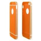 "ENKAY Protective TPU + Plastic Back Case Cover for 4.7"" IPHONE 6 - Orange"