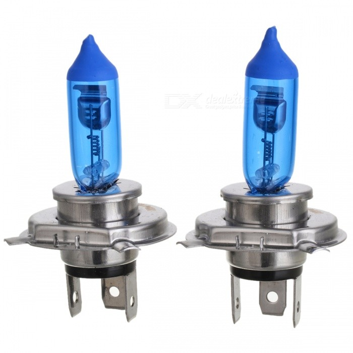 H4 24V 100/90W 5000K 2000lm Super White Light Halogen Lamp for Car & Motorcycle (2 PCS)