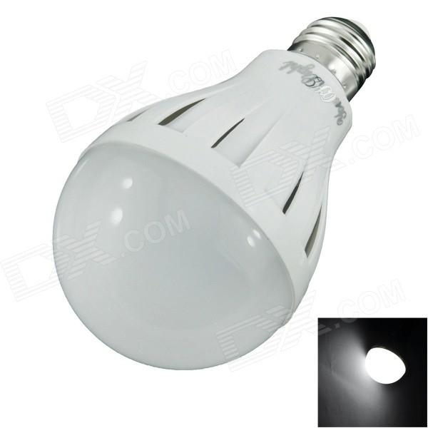 YouOKLight ADS-C15W E27 15W 850lm 6000K 24-SMD 5630 LED White Light Bulb - White (AC 220V) ss7 g50c e27 2w 145lm 6000k 24 smd 3014 led white light bulb white ac 220v
