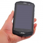 "AGM STONE 5S Android 4.4  Quad Core 4G Waterproof Bar Phone w/ 5.0"" HD, 8GB ROM, WiFi, GPS, BT"