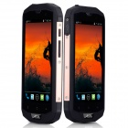 "AGM STONE 5S Waterproof Android 4.4 Quad Core 4G Bar Phone w/ 5.0"" HD, 8GB ROM, WiFi, GPS, BT"