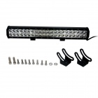 126W Type/C 8820lm 6000K 42-LED White Spot Beam Working Lamp Bar for Car / Boat