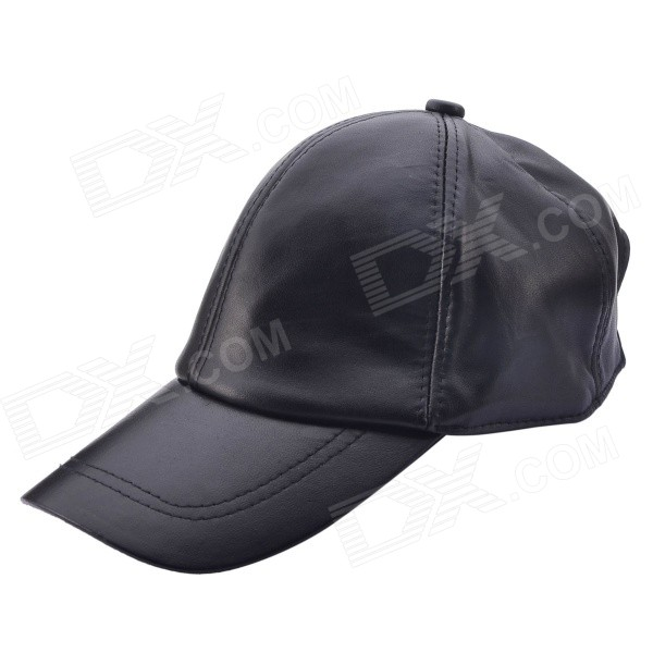 NEJE ZJ0081-1 Men's Casual Adjustable Baseball Cap - Black long keeper 2017 warm winter baseball cap men brand snapback black solid bone baseball mens winter hats ear flaps ot19