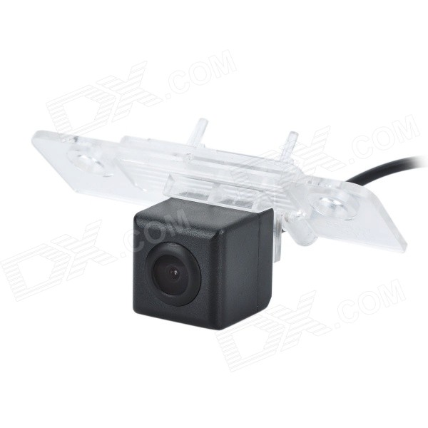 Wired CCD IP67 Waterproof 170' Wide-Angle Car Reversing Rearview Camera for VW Skoda Octavia - Black