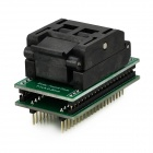 SA636 / TQFP32 / QFP32  Adapter Socket Module - Black + Green