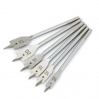 6-in-1 Flat Tip Chisels Tappers Cutting Tools Set - Silver