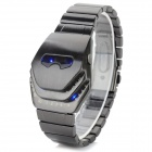 Men's Robot Style Zinc Alloy Band Digital Electronic Watch - Black Grey (1 x CR2032)