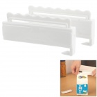 Convenient Food Bag Sealing Clips - White (2 PCS)