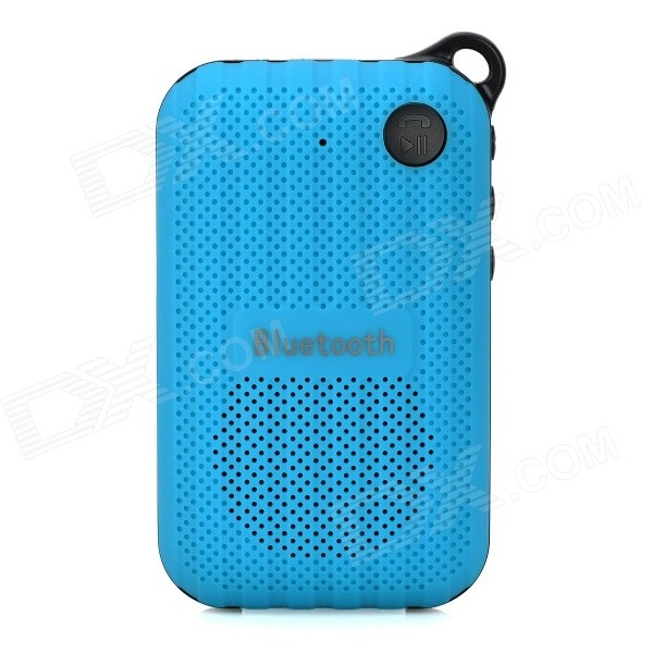 B03 Portable Outdoor Bluetooth Speaker w/ FM / Hands-Free / Microphone / TF - Blue + Black