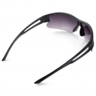 De OULAIOU Men Outdoor Ciclismo Plastic Quadro PC Lens UV400 Sunglasses - Black + Roxo