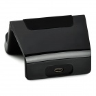 Mobile Charging Dock for Samsung Galaxy Note 3 / Note 4 / i9200 - Black