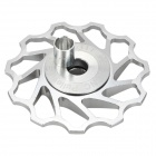 AEST AEST-14 Bike Bicycle Ultra Light 11T Aluminum Alloy Wheels Rear Derailleur Pulley - Silver
