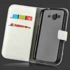 Protective PU Leather Flip-Open Case for Samsung Galaxy Grand Neo / i9060 - White