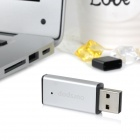 Ourspop OP- 12 High -Speed ​​USB 2.0 Flash Drive Disk - серебро + черный (4 Гб)