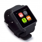 "KICCY K01 GSM Smart Watch Phone w/ 1.54"" MIPI, Anti-lost, Sleep Monitor, Pedometer - Black"