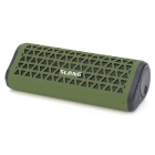 SLANG X7 Portable Outdoor Bluetooth Subwoofer Speaker w/ FM / TF / Hands-free - Army Green + Black
