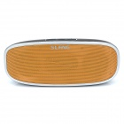 SLANG X20 2 x 3W Bluetooth V3.0 Wireless Subwoofer Speaker w/ TF / AUX / Micro USB - Black + Orange