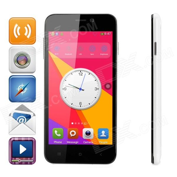 D6 SC7715 Android 4.4.2 WCDMA Smart Phone w/ 5.0