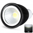 GU10 6W 710lm Neutral White COB LED Spot Light - Black (AC 220~240V)
