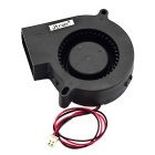 Jtron DC 12V 0.18A DIY Circuit Board Cooling Fan - Black