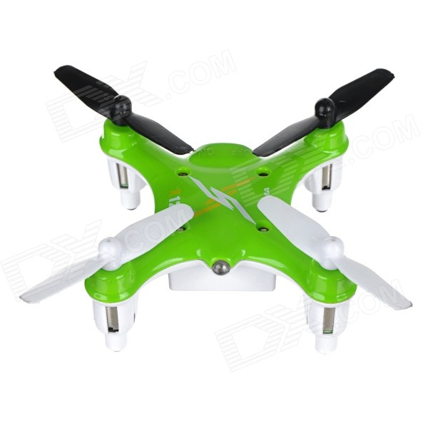 SYMA X12 2.4GHz 4-Channel 6-Axis Gyro Mini R/C Quadcopter Aircraft Toy - Green