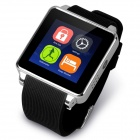 "KICCY K01 GSM Smart Watch Phone w/ 1.54"" MIPI, Anti-lost, Sleep Monitor, Pedometer - Black + Silver"