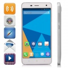 "DOOGEE HITMAN DG850 Android 4.4 Quad-Core WCDMA Bar Phone w/ 5.0"" IPS, 16GB ROM, GPS - White"