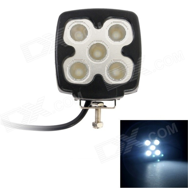 GULEEK 20W 1500lm 6000K 5-LED White Flood Light / Offroad Car Light Bar / Working Lamp (10~30V) guleek 60w type h 4200lm 6000k 6 led white flood spot light worklight bar for car boat