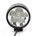 UltraFire 6-V5 6-LED 5000lm 3-Mode High Power Bike Light - Black (6 x 18650)