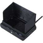 "RC700D 7"" FPV Monitor w/ 5.8G Dual 32CH Wireless Diversity Receiver - Black"