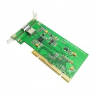 CY U3-191 Single Port Super Speed USB 3.0 to PCI Card for PC - Green