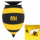 Xiaomi Cute Honeybee Shaped Silicone Desktop Mobile Phone Stand Holder - Black + Yellow