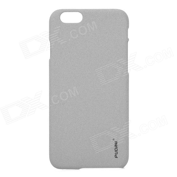 PUDINI WB-I647 Protective Matte ABS Back Case for IPHONE 6 4.7 - Grey nillkin protective matte plastic back case w screen protector for iphone 6 4 7 golden