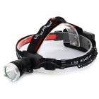 RAYSOON RS-T6 500lm 3-Mode White Light LED Headlamp - Black + Greyish White (1 x 18650 / 3 x AAA)