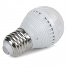 E27 1.5W LED Bluish White Light Bulb - White + Silver (AC 220V)